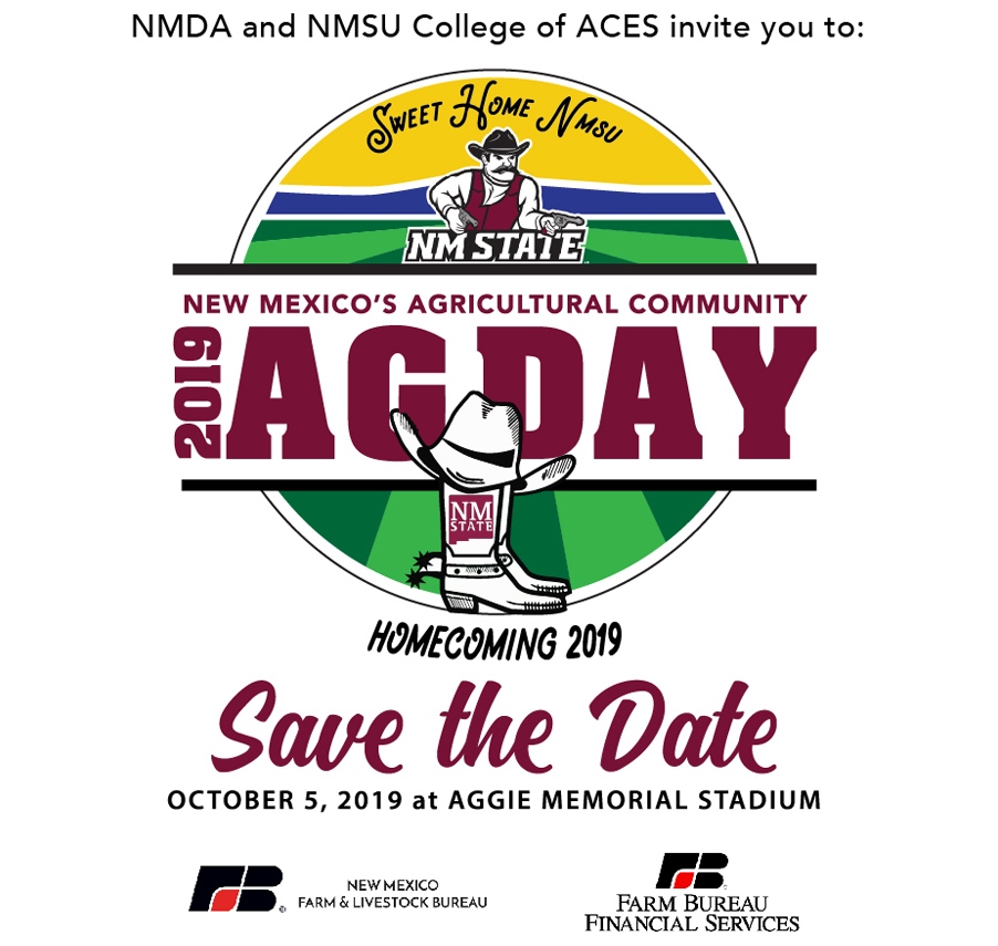 Ag Day Logo: Save the date