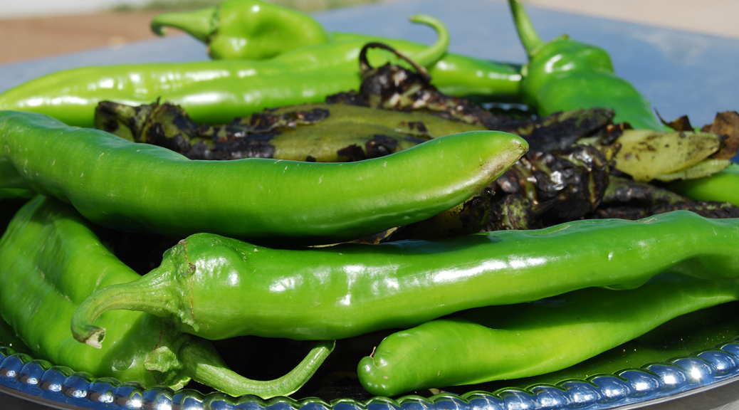 Fall means green chile in New Mexico
