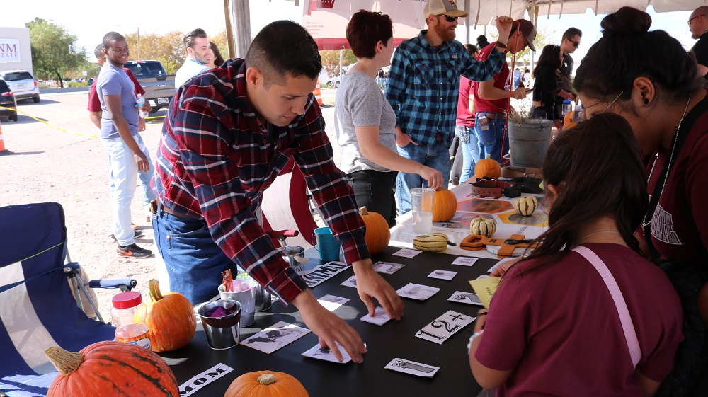 Aggie fans can expect over 50 booths representing numerous NMSU groups, as well as businesses and organizations from New Mexico's agriculture community, at AG Day. The event will feature farm animals, educational exhibits, games, prizes, live music and samples of New Mexico-made food.