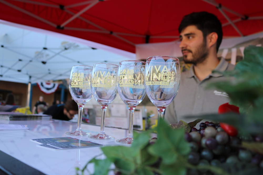 "The New Mexico State Fair and the New Mexico Department of Agriculture have teamed up with the New Mexico Brewers Guild ""The Frontier of Beer"" and ""Viva Vino"" New Mexico Wine to host the happy hours. (Photo courtesy NMDA)"