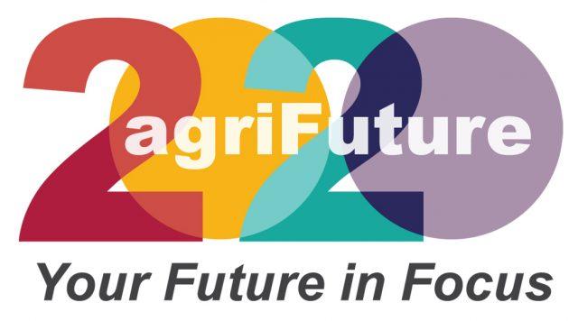 Agrifuture Logo: Your Future in Focus.
