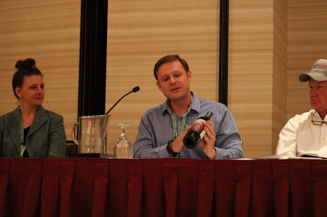 "Sean Sheehan of Sheehan Winery was part of the ""Marketing: Finding Your Niche"" panel at the 2018 AgriFuture Educational Institute. Held every other year, the conference aims to connect, inform and inspire the next generation of farmers, ranchers and all people involved in agriculture. The 2020 AgriFuture is May 18-20 in Albuquerque."