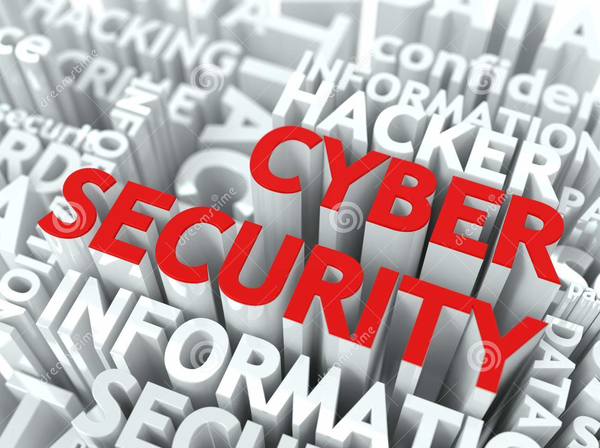 red and white cybersecurity graphic